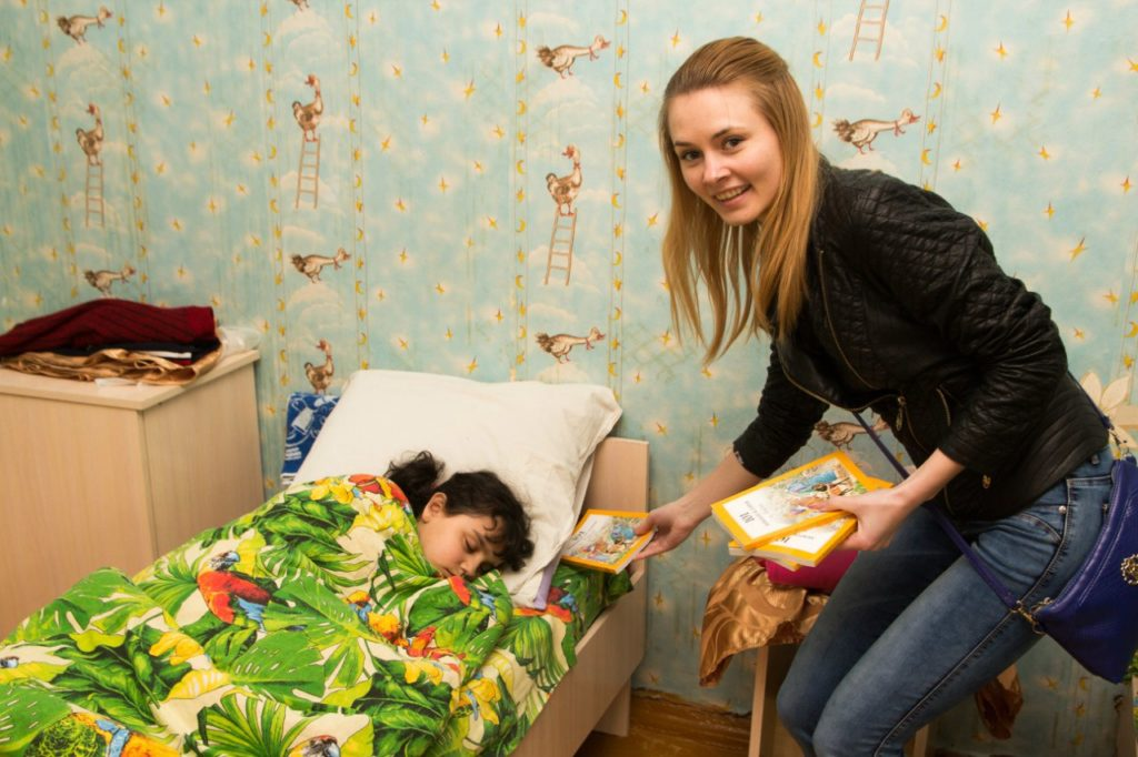 Alesya, School Without Walls leader from Belarus