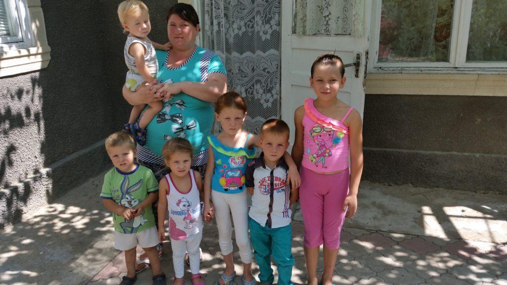 Natasha's family in Moldova