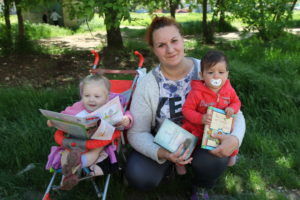 Tatyana, humanitarian aid recipient from eastern Ukraine