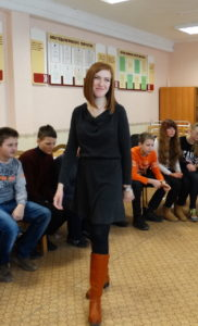 Veronica, School Without Walls graduate from Belarus