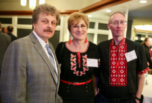 Sergey and guests at Mission Eurasia's April 2018 banquet in IL