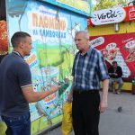 World Cup Scripture distribution in Omsk, Russia