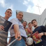 Scripture distribution during the World Cup in Russia