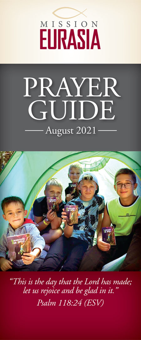 August 2021 Prayer Guide