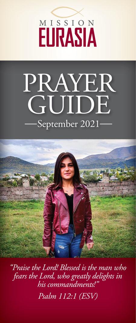 September 2021 prayer guide